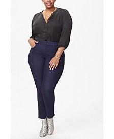 Plus Size Sheri Slim Leg Jeans