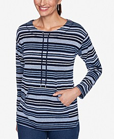 Petite Pebble Striped Top