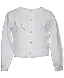 Baby Girls Bows Cardigan Sweater