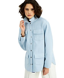 Button-Down Fleece Jacket, Created for Macy's