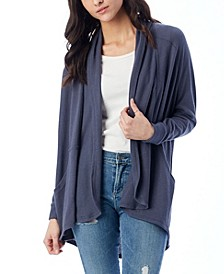 Women's Zen Vintage-Like Heavy Knit Wrap