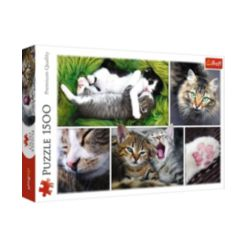 Jigsaw Puzzle Just Cat Things Collage, 1500 Piece