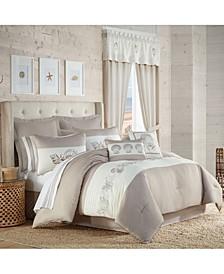 Water's Edge 4 Piece Comforter Set, California King