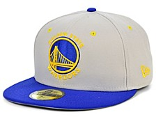 Golden State Warriors Stone 2 Tone 59FIFTY Cap