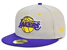 Los Angeles Lakers Stone 2 Tone 59FIFTY Cap