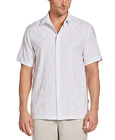 Men's Embroidered Panel Shirt