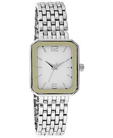 Women's Silver-Tone Bracelet Watch 25mm, Created for Macy's