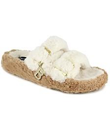 Fanny Women's Faux Fur Slide Sandals