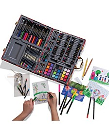 Kids Art Studio Portable with Chipboard Case 127pc