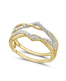 Diamond Enhancer Ring Guard (1/4 ct. tw.) in 14K White or Yellow Gold