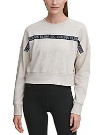 Outline Logo Tape Sweatshirt