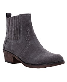 Women's Reese Western Style Ankle Booties