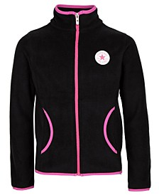 Girls Microfleece Full-Zip Jacket