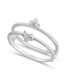Diamond Enhancer Ring Guard (1/10 ct. tw.) in 14K White Gold