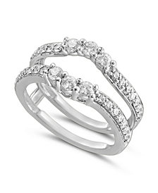 Diamond Enhancer Ring Guard (3/4 ct. t.w.) in White or Yellow Gold
