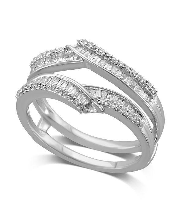 Macy's Diamond Enhancer Ring Guard (1/2 ct. t.w.) in 14K White Gold