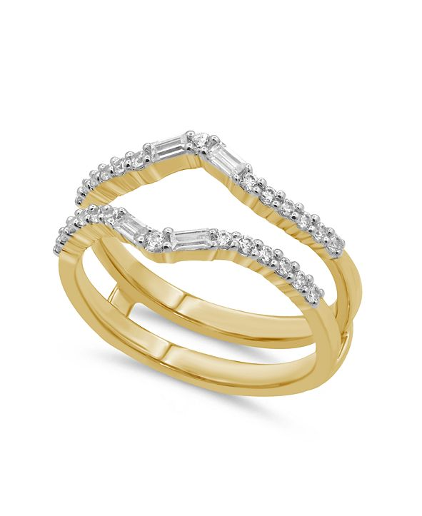 Macy's Diamond Enhancer Ring Guard (3/8 ct. t.w.) in 14K White or Yellow Gold