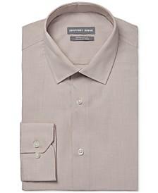 Men's Classic/Regular-Fit Non-Iron Performance Stretch Dress Shirt