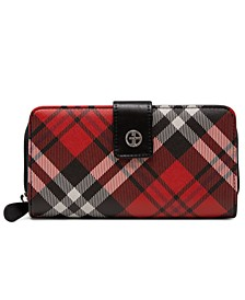 Saffiano Plaid All In One Wallet, Created for Macy's