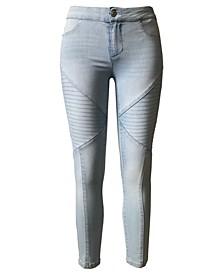 Juniors' Moto Skinny Jeans