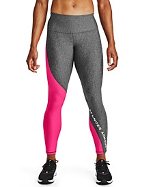 Women's HeatGear® Colorblocked Compression Leggings