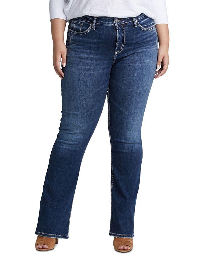 Silver Jeans Co. - Plus Size Avery Plus Size Bootcut Jeans