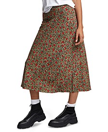 Juniors' Annika High-Waisted Slip Skirt