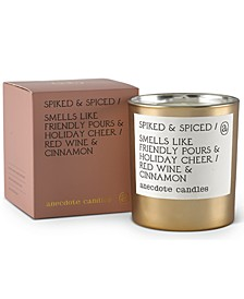 Spiked & Spiced Red Wine & Cinnamon Boxed Gold Tumbler Candle, 9-oz.