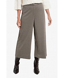 Women's Wide Leg Heritage Check Pant