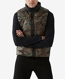 Men's Camo Puffer Vest