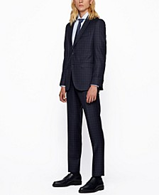 BOSS Men's Novan6/Ben2_TW Slim-Fit Suit