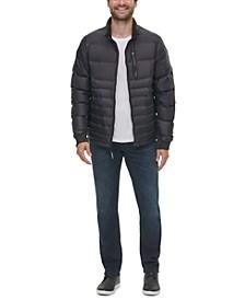Men's Seamless Down Puffer Jacket