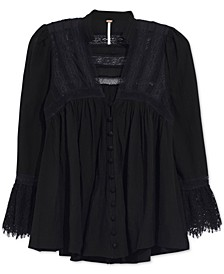 Esme Lace-Trim Blouse