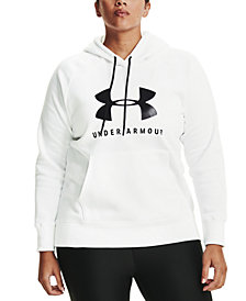 Under Armour Rival Logo Fleece Hooded Sweatshirt