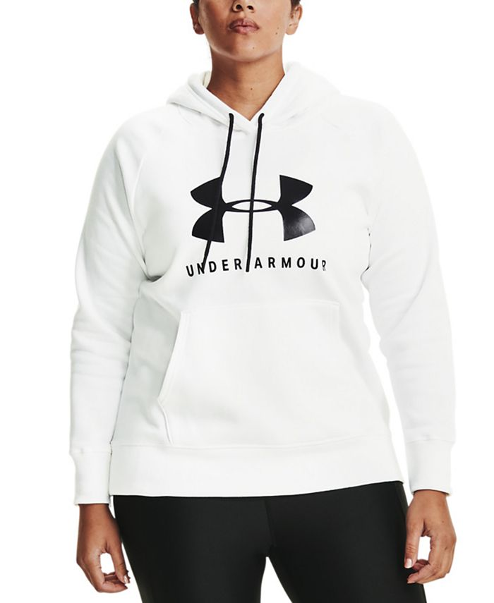 Under Armour - Rival Logo Fleece Hooded Sweatshirt