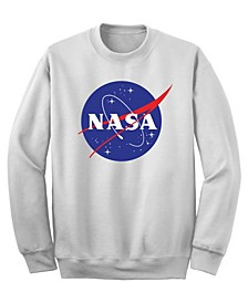 Men's NASA Logo Crew Fleece Sweatshirt