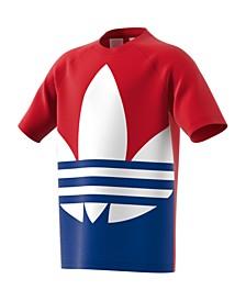 Big Boys Large Trefoil T-shirt