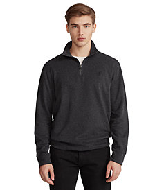 Polo Ralph Lauren Men's Jersey Quarter Zip Sweatshirt