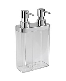 Dual Pump Soap Lotion Dispenser In Clear