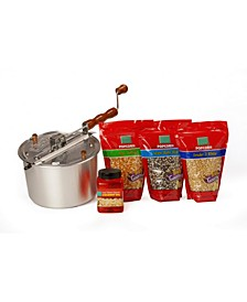 Gourmet Popcorn Starter Set, 4 Pieces