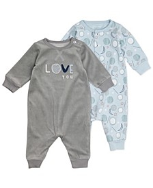 Baby Boy or Girl 2pk Unionsuits