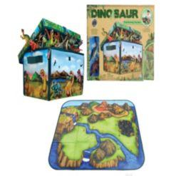 Zipbin Dinosaur Collector Toy Box Playmat