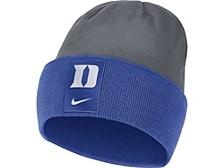 Duke Blue Devils Sideline Fleece Beanie Knit