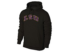 Tigers NCAA Men's Screenprint Big Logo Hooded Sweatshirt