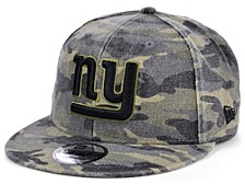 Men's New York Giants Worn Camo 9FIFTY Cap