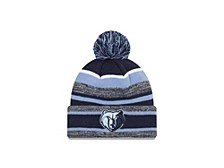 Memphis Grizzlies Striped Marled Knit Hat