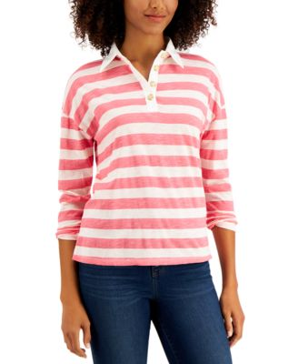 Striped Rugby Shirt, Created for Macy's