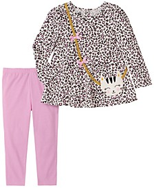 Toddler Girl 2-Piece Tunic Top with Legging Set