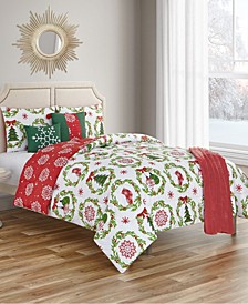 Decorations Queen Comforter Set, 6 Piece