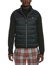 Men's Quilted Outdoor Sleeveless Vest